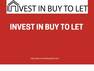 Buy To Let Property Investment Valuation For Yours Home Worth