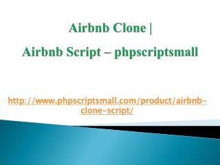 Airbnb Clone | Airbnb Script - phpscriptsmall