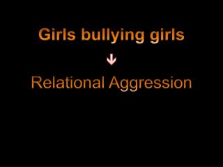 Girls bullying girls