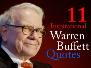 Warren Buffett Inspirational Quotes