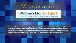 HP Officejet 4500 Cartridges - Atlantic Inkjet