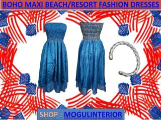Maxi beach resort fashion dresses by mogulinterior