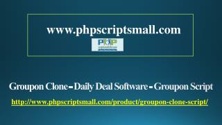 Groupon Clone - Daily Deal Software - Groupon Script