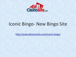 Iconic Bingo – Brand New Bingo Site