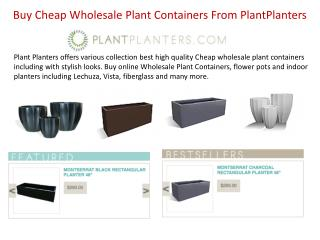 Buy Cheap Wholesale Plant Containers