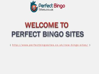 New Bingo Sites 2017 | Best New online Bingo Sites UK| Best New Online Bingo Games