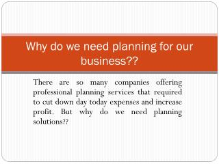 Perfect Sales and Operations Planning planning solutions