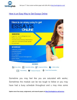 CHEAP ONLINE ESSAY WRITING SERVICES UK