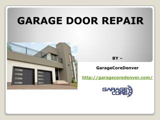 Garage Door Repair - Garage Door Opener Repair