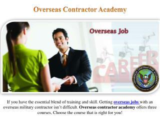 International Careers and Jobs Overseas