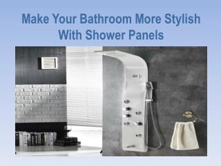 Buy Shower Panels Online @ Getinhours.com
