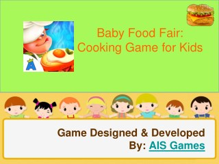 Baby Food Fair   Cooking Game for Kids