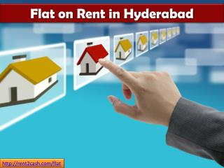 Flat on Rent in Hyderabad