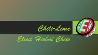 Chili-Lime: Elicit Herbal Chew