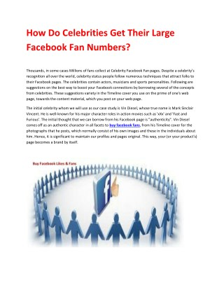 Buy Facebook Fans | Buy Real Facebook Fans | Buy Real Facebook Likes | Boostfansonline