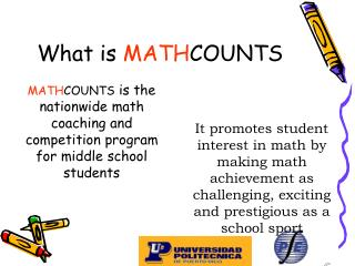 What is  MATH COUNTS