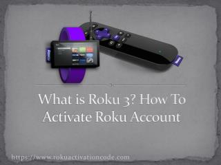 How To Setting Up The Roku Account