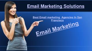 Best Email Marketing agencies in San Francisco | Top Email Marketing Agencies in San Francisco - 2017