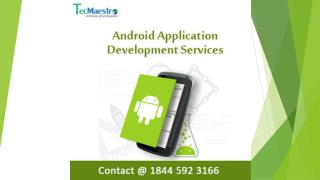 Android Application Development Services - Best IT Company in India