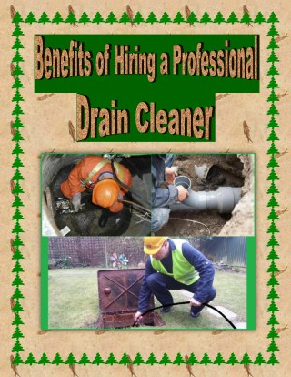 Benefits of Hiring a Professional Drain Cleaner