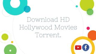HD Hollywood Movies Torrent