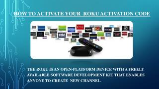 How to activate your roku activation code