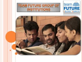 Team Future is among the best MBA colleges in Kolkata