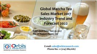 2017-2022 Matcha Tea Sales Industry
