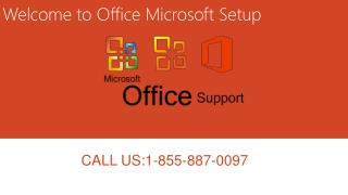 Office Microsoft Setup Services 1-855-887-0097