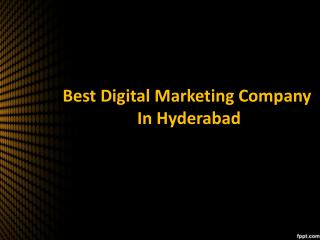 Digital Marketing Services in Hyderabad, online Marketing Services Hyderabad – Saga Bizsolutions