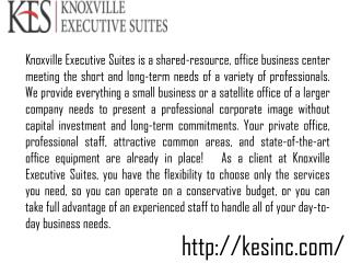 Office Space Lease In Knoxville