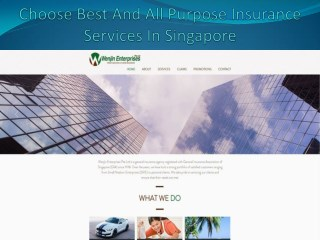 Choose Best And All Purpose Insurance Services In Singapore