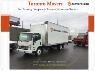 Best Movers in Toronto | Toronto Cheap Moving Services - Movers4you