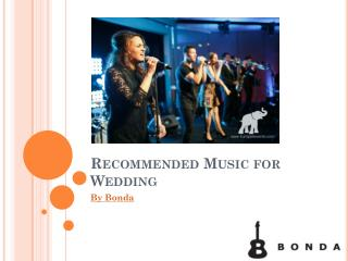 Recommended Music for Wedding | Bonda