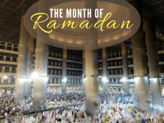 The month of Ramadan 2017