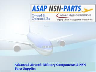 Asap NSN Parts - Advanced Military Aircraft Parts