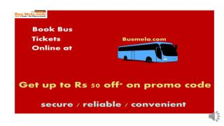 Busmela - Online bus ticket booking in India