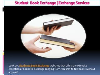 Exchange Services Online | Student Book Exchange