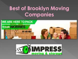 Best of Brooklyn Moving Companies