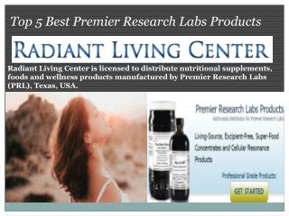 Top 5 Best Premier Research Labs Products