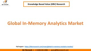Global In-Memory Analytics Market Growth