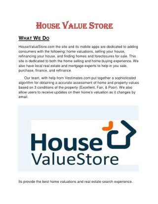 Homes for sale & home valuation