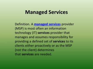 Wintellisys – An IT Managed Service Provider