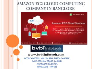 Amazon EC2 Cloud Consulting Company In Bangalore