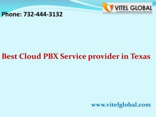 Best Cloud PBX Service provider in Texas