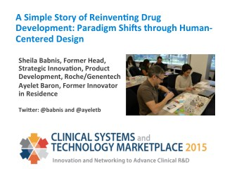 A Simple Story of Reinventing Drug Development: Paradigm Shifts through Human-Centered Design