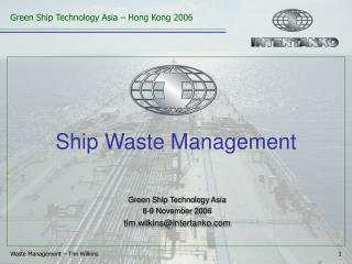 Ship Waste Management