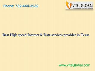 Best High speed Internet & Data services provider in Texas