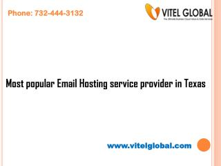 Most popular Email Hosting service provider in Texas