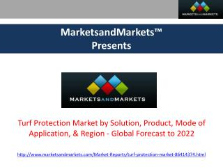 Turf Protection Market worth 6.41 Billion USD by 2022